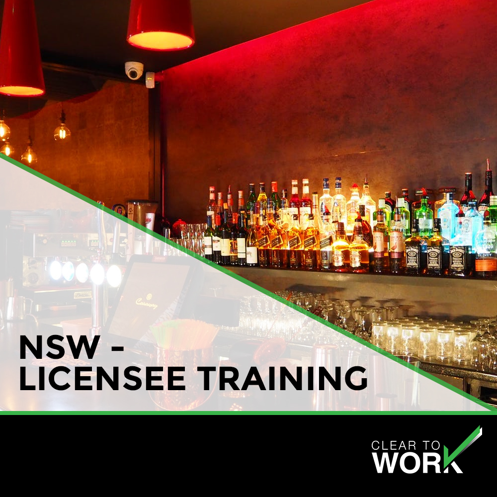 NSW - licensee training